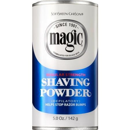 Magic Shave Powder Blue 5 Oz