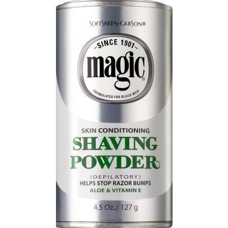 Magic Shave Powder Gold 4.5Oz