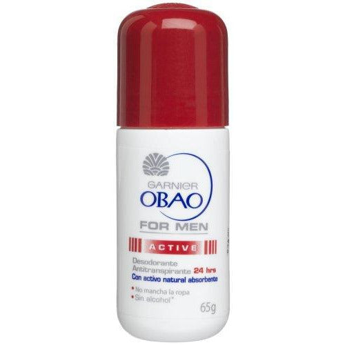 Obao Roll On Deodorant For Men, 2.29Oz