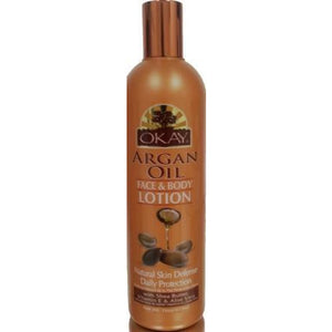 Okay Argan Oil Face And Body Lotion - 16 Oz