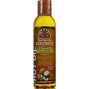 Okay Coconut Hot Oil Treament 6 Oz