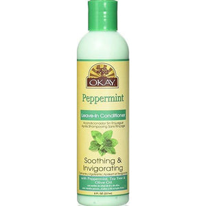 Okay Peppermint Leave-In Conditioner - 8Oz