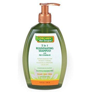 Organic Hair Energizer 5 In 1 Rejuvenating Shampoo 13Oz