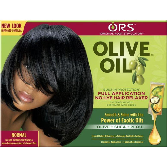 ORS Olive Oil No Lye Relaxer Kit, Normal