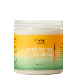 Eden Papaya Castor Conditioning Hairdress, 8 Oz