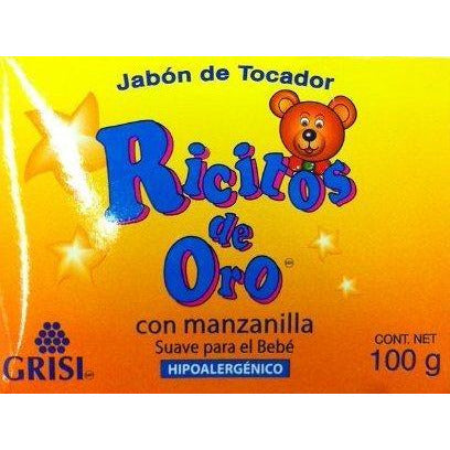 Ricitos De Oro Baby Soap, 3.5 Oz