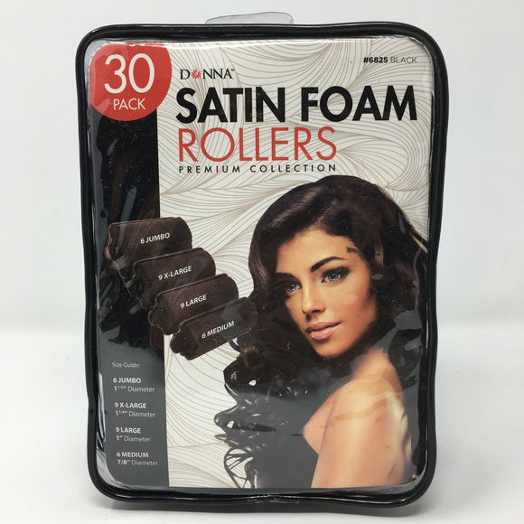 Donna Satin Foam Rollers