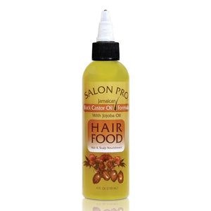 Salon Pro Hair Food, Black Castor With Jojoba Oil, 4 Ounce