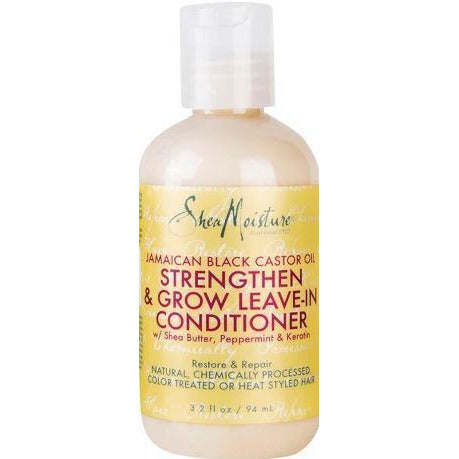 Shea Moisture Jamaican Black Castor Oil Strengthen & Restore Leave-In Conditioner 3.2 Oz