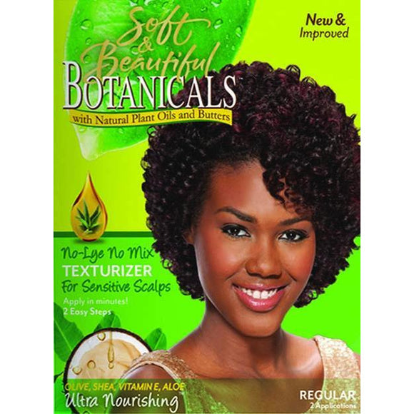 Soft & Beautiful Botanicals No Mix Texturizer For Sensitive Scalps Coarse
