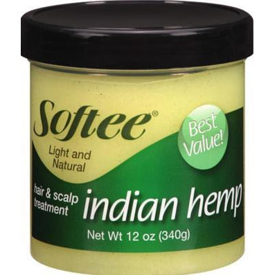 Softee Indian Hemp Hair & Scalp Treatment 5 Oz