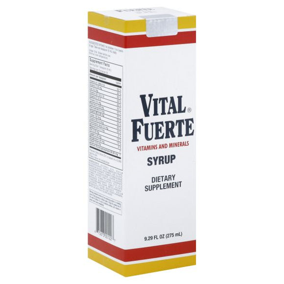 Vital Fuerte Dietary Supplement Syrup, 9.29 Oz