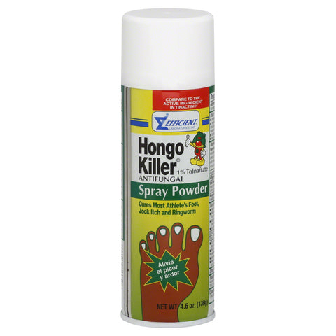 Hongo Killer Antifungal Spray Powder