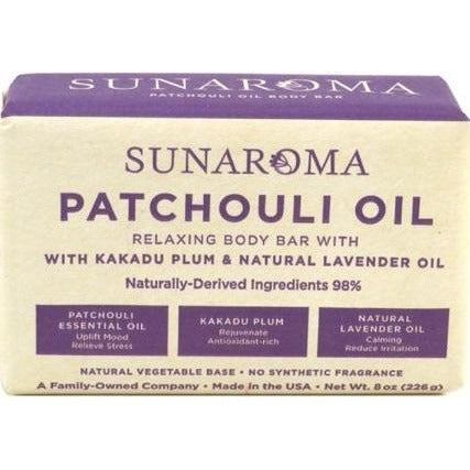 Sunaroma Patchouli Oil Soap 8Oz