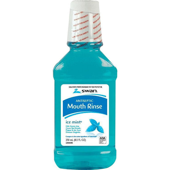 Antiseptic Mouth Rinse, Ice Mint, 8.5 Ounce