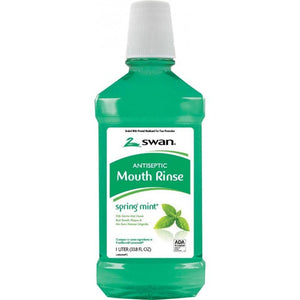 Antiseptic Mouth Rinse, Spring Mint, 33.81 Fluid Ounce
