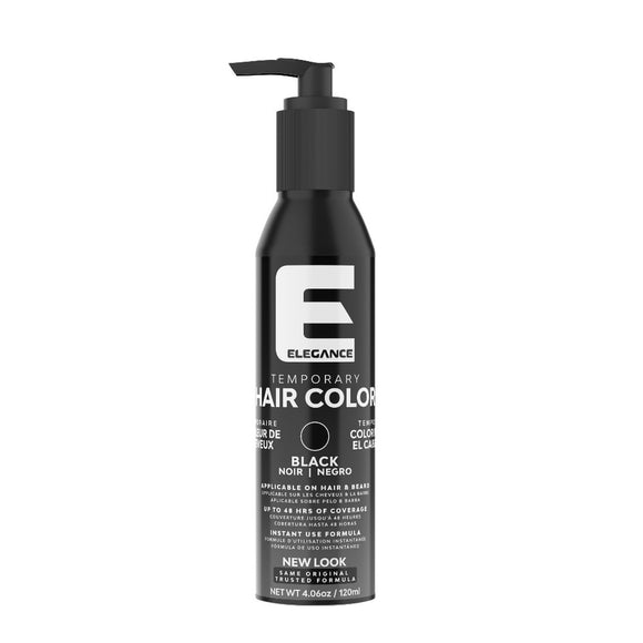 Elegance Semi-Permanent Black Hair Color, Black, 4.08 Oz