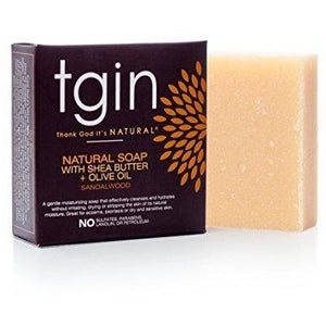 Tgin Olive Oil Soap, Sandalwood Bar 4Oz