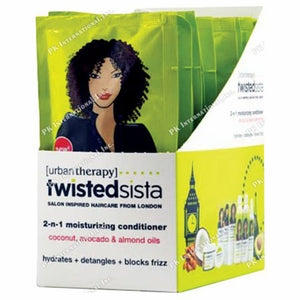 Twisted Sista Clarifying Curl Cleanser 1.75 oz 12 Pack Display