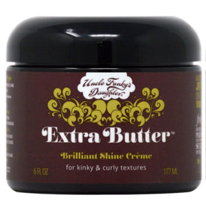Uncle Funky'S Daughter Extra Butter Brilliant Shine Creme 6Oz