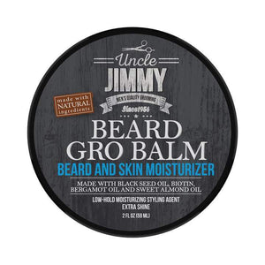 Uncle Jimmy Beard Gro Balm Beard And Skin Moisturizer 2Oz