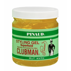 Clubman Styling Gel, Superhold, 16 Oz