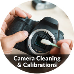 Camera Cleaning and Lens Calibrations