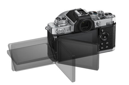 Nikon Z fc articulating screen for video