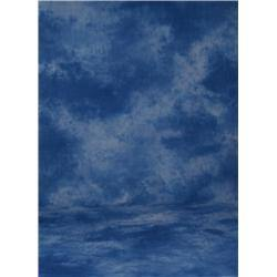 PRO 10X12FT BLUE CLOUD MUSLIN