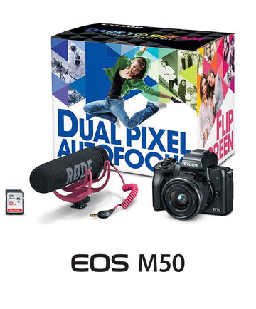 CANON EOS M50/15-45 VIDEO KIT