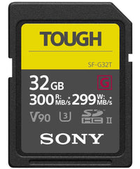 SONY 32GB TOUGH SDHC G SERIES