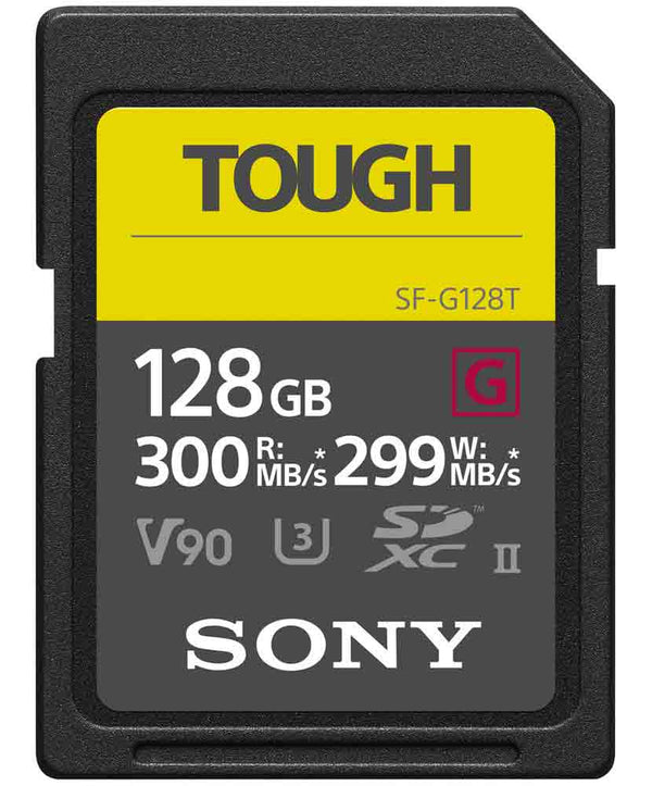 SONY 128GB TOUGH SDHC G SERIES