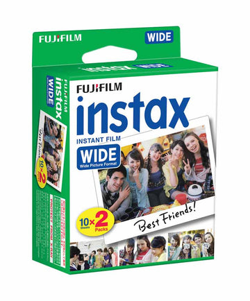 FUJI INSTAX WIDE FILM 2PK