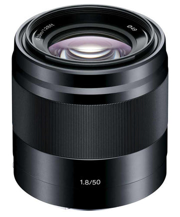 SONY E 50MM 1.8 OSS BLACK