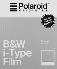 POLAROID i TYPE B&W FILM