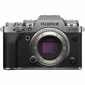 FUJIFILM X-T4 WITH 18-55 LENS SILVER KIT