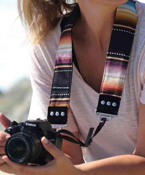 CAPTURING COUTURE 2IN STRAP NAVAJO BLACK
