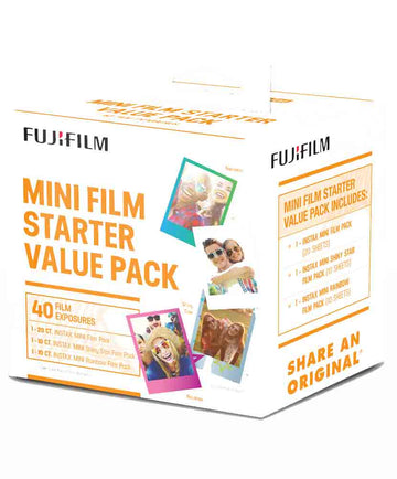 FUJI INSTAX MINI STARTER KIT
