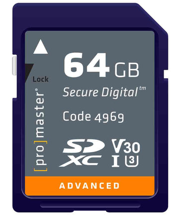 PRO 64GB SDHC 633X ADVANCED