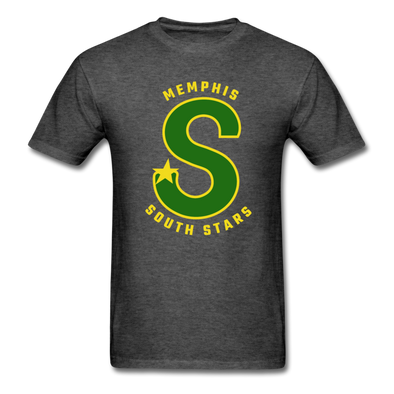 Memphis South Stars T-Shirt (CHL) - heather black