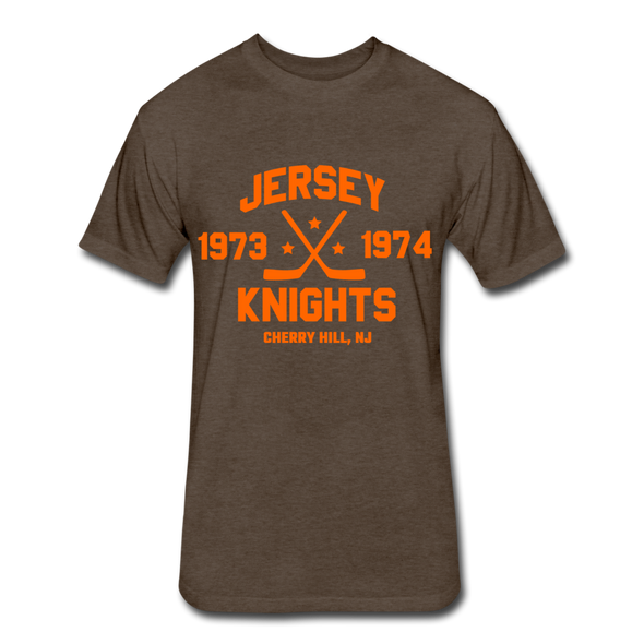 Jersey Knights Dated T-Shirt (WHA) - heather espresso