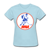 World Hockey Association Logo Women's T-Shirt (WHA) - powder blue