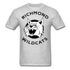 Richmond Wildcats Logo T-Shirt (SHL) - heather gray