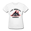 Los Angeles Sharks Logo Women's T-Shirt (WHA) - white