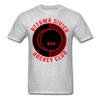 Ottawa Civics Logo T-Shirt (WHA) - heather gray