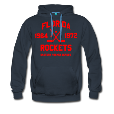 Florida Rockets Double Sided Premium Hoodie (EHL) - navy