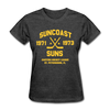 Suncoast Suns Dated Women's T-Shirt (EHL) - heather black