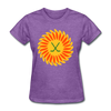 Suncoast Suns Logo Women's T-Shirt (EHL & SHL) - purple heather