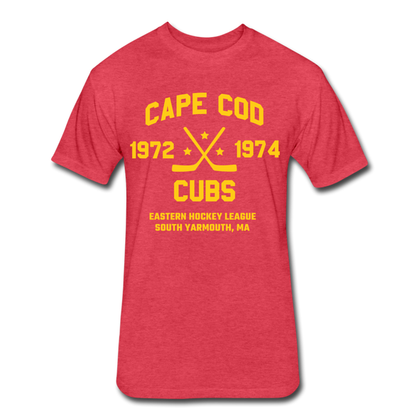 Cape Cod Cubs Dated T-Shirt (EHL & NAHL) - heather red