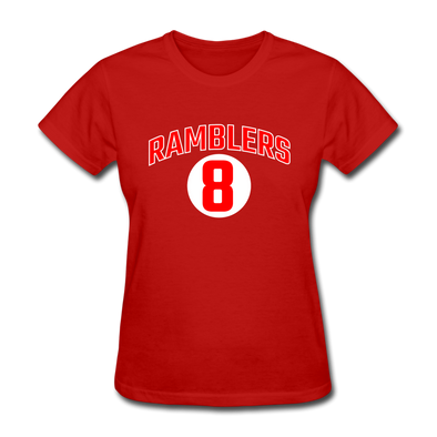 Philadelphia Ramblers Logo Women's T-Shirt (EHL) - red